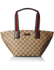 中亚:(新品)古驰  レディース ハンドバッグ 女士奢华棕色 手提单肩包 ¥2,486.03
