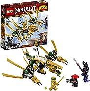 LEGO 乐高 拼插类玩具 Ninjago 幻影系列 幻影忍者黄金飞龙 70666 7岁+ 积木玩具