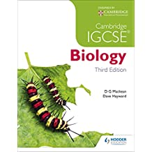 Cambridge IGCSE Biology 3rd Edition (Book & CD) (English Edition)