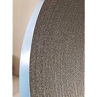 双层玻璃玻璃胶带,DC-PEF12P 宽 0.32 cm x 厚 1.91 cm x 190.5 cm 黑色