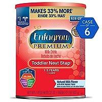 Enfagrow 美赞臣 PREMIUM Next Step幼儿奶粉 32盎司(907g)/罐 6罐装(适用年龄:1-3岁)(包装随机发货)