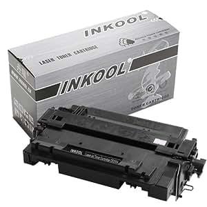 INKOOL 丹瑞 CE255X 硒鼓 适用于(HP LaserJet P3015 P3015D P3015DN P3015X打印机 激光打印机硒鼓 一体机硒鼓 HP CE255X硒鼓)(黑色)