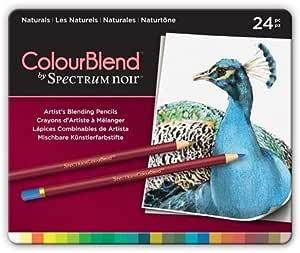 ColourBlend by Spectrum Noir New 24 件铅笔盒,天然
