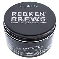 Redken For Men Maneuver Working Wax Medium Control 3.4 Oz