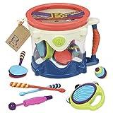 B.Toys 比乐 五式乐器大鼓 摇滚乐器 打击乐器套装 音乐玩具  婴幼儿童益智玩具 礼物 18个月+ BX1446X