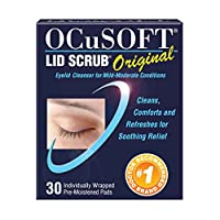 OCuSOFT Lid Scrub原裝,預濕護墊,30支裝