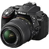 Nikon 尼康 D5300 单反套机(AF-S DX 18-55mm f/3.5-5.6G VR 尼克尔镜头)黑色