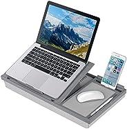 LapGear Ergo Pro 筆記本電腦支架 – 帶20個可調節角度的筆記本電腦桌 灰色