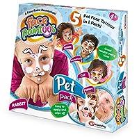 脸彩,临时脸部油漆纹身 Child Pet 多色
