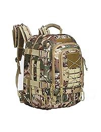 ARMYCAMOUSA *战术背包,大号 3 天军莫尔突击背包,适合户外、徒步、露营、徒步、登山、越野赛、小虫旅行。