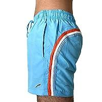 Speed 男式游泳短裤泳装沙滩装可调节