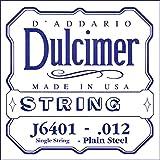 D'Addario J6401 普通钢化双绞线.012