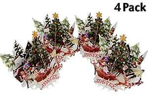 IShareCards 3D 弹出式圣诞贺卡 Together Celebration 4