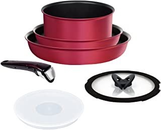 IH 紅寶石/優質 鍋組 ルビー フライパン 鍋 6點 セット