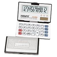 Trnfa 信发  12位数多功能便携式电子计算器TA-555A(180度叠、退位功能)