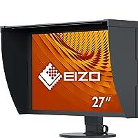 Eizo 艺卓 CG2730-BK 图像显示器 68.4 cm (27 英寸)  (DVI-D, HDMI, Display Port, WQHD)黑色