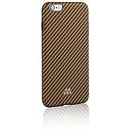Evutec-AP-655-SI-K06-Karbon Si 系列时尚防撞保护套,适用于 iPhone 6 Plus-棕色/黑色