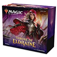 Magic The Gathering Eldraine 捆绑包王座玩具(包括10个补充包)