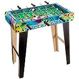 Globo Toys Globo - 37019 69 x 36.5 x 65 厘米 牛顿木 3 杠带支架的足球桌
