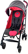 chicco 智高 Liteway乐维可折叠婴儿轻便推车(紫红色) (适合0-3岁宝宝 可拆卸座套 防滑把手 万向前轮 5点式安全带)