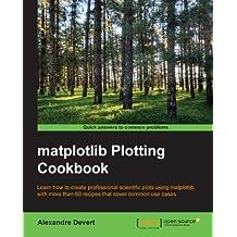 matplotlib Plotting Cookbook (English Edition)