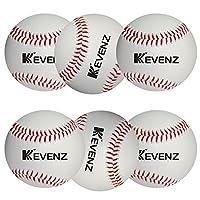 KEVENZ 比赛级棒球,高级棒球(6 只装)