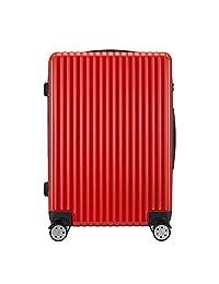 ELLE 中性 流行配色轻便拉链万向轮防撞包角行李箱拉杆箱旅行箱 ELCL5512 (亚马逊自营商品, 由供应商配送)