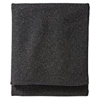 Pendleton 生态Wise 羊毛可水洗床毯 炭黑色 Queen ZA17452307