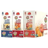 Earth's Best 2段 嬰孩食品,果子混合品種組裝,18包