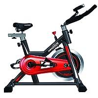 KANSOON 凯速 时尚动感单车 无极阻力调节 家用健身车 DB10 黑色/红色 113 x 50 x 95 cm(供应商直送)