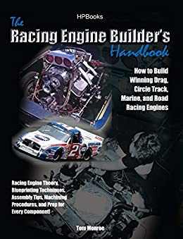 """Racing Engine Builder's HandbookHP1492: How to Build Winning Drag, Circle Track, Marine and Road RacingEngines (English Edition)"",作者:[Monroe, Tom]"