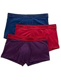 Calvin Klein卡尔文·克莱恩 男士四角裤 三支装