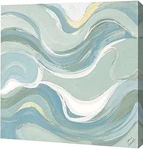 "PrintArt GW-POD-34-10807C-36x36 ""海岸曲轴 II"" Lanie Loreth 画廊装裱艺术微喷油画艺术印刷品 16"" x 16"" GW-POD-34-10807C-16x16"