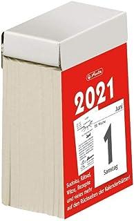 herlitz 50030675 撕裂日历2021,尺寸 1(4 x 6厘米),1件