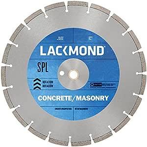 "Lackmond SPL 系列干式切割钻石刀片,适用于固化混凝土 14"" x .125"" - 20mm Arbor SG14SPL12520"