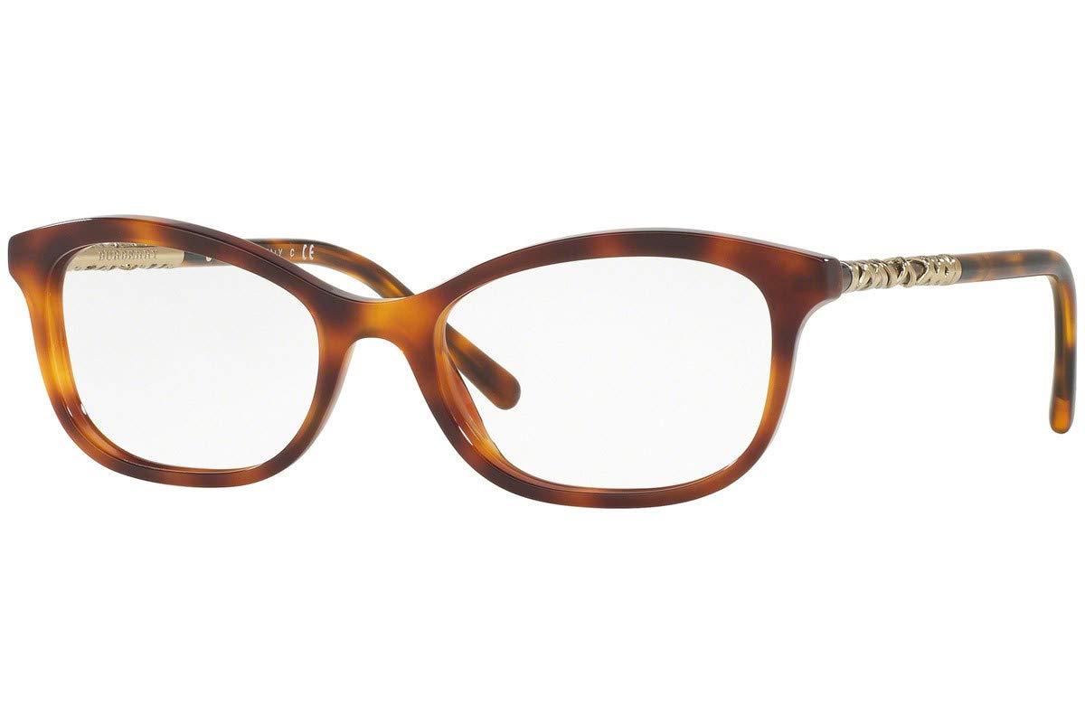 Burberry BE2231 眼镜 52-18-140 浅哈瓦那 3316 BE 2231