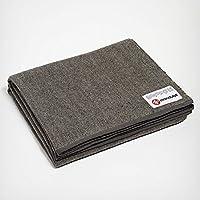 曼都卡(Manduka) 折叠羊毛 毛毯 RECYCLED TWILL WOOL BLANKET Twill【日本正品】 401105066-008