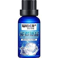WEICA 维尔卡特 汽车轮毂镀晶套装 轮毂镀膜剂 上光保护铝合金钢圈 第二代轮毂防护(轮毂镀晶套装)