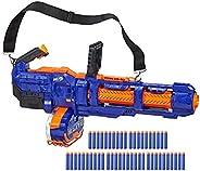 NERF 热火 精英泰坦CS-50 玩具爆破枪-全电动,50个飞镖鼓,50个官方Nerf精英飞镖,旋转筒-适合儿童,青少年,成人