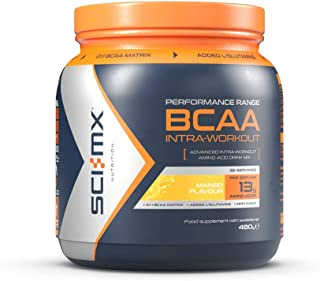 SCI-MX Nutrition BCAA INTRA-WORKOUT, 氨基酸饮料, 480g, 32份
