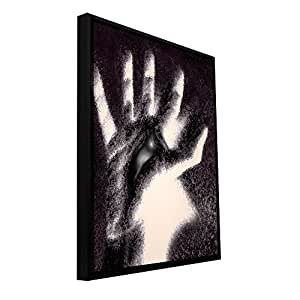 ArtWall 'Hand of Healing' Gallery Wrapped Canvas Art by Dean Uhlinger, 16.5 by 22.5-Inch