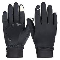 冬季手套,RilexAwhile 触屏手套保暖手套,男女户外骑行手套