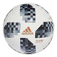 2018世界杯足球 亲子儿童款 adidas 阿迪达斯 CE8139黑/银金属 1号球 (直径:8cm)