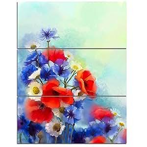 """设计艺术 28x36"""" - 3 Panels PT14091-28-36-3P"""