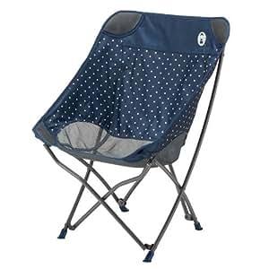 COLEMAN 科勒曼 *椅(*蓝点)〔2018SS 野营用品 椅子〕 (藏青色):2000031283