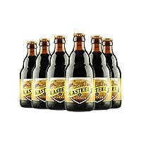 卡斯特 比利时进口 精酿啤酒 330ml/瓶 口味可选 (6瓶黑啤)