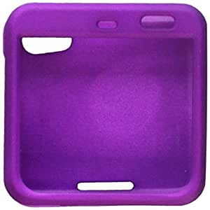 Asmyna MOTMB511HPCSO349NP Premium Durable Rubberized Protective Case for Motorola FlipOut MB511-1 Pack - Retail Packaging - Grape