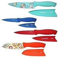 Fiesta 2 件套木图案 多种颜色 8-Piece Decal Cutlery Set 6485Y7R