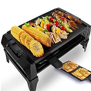 Liven 利仁 DKL-30A 电烤炉(8项功能调温旋钮,电烧烤炉家用电烤盘烧烤机,无烟不沾烤肉锅)