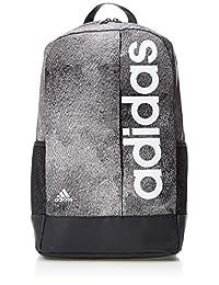 adidas 阿迪达斯 中性 双肩背包 CF3414 云母粉 S18/黑/白 NS